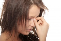 stress causes acne